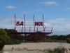 endlich die Grenze nach Western Australia