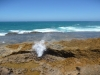 Blowhole bei Point Quobba