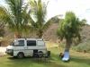 Unser Stellplatz in Coral Bay