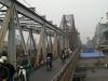 Eisenbahnbrücke in Hanoi