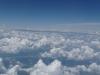 Blick vom Flugzeug