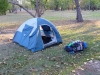 mein Zelt - noch nicht kaputt